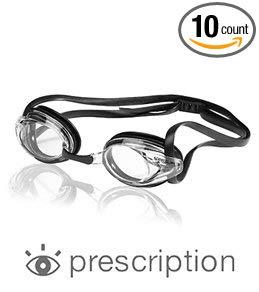 Speedo Jr. Vanquisher Optical Goggle White 5.5