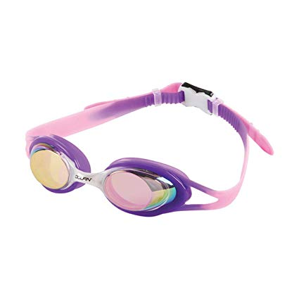 Dolfin Youth Hot Shots Mirrored Goggles (Purple)