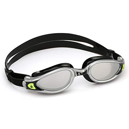 Aqua Sphere Kaiman Exo Ladies Mirrored Lens Swimming Goggles - SIlver/Black