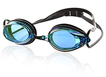 Phoenix Prescription Racing Swim Mirrored Best anti fog Goggle PN-1000SM